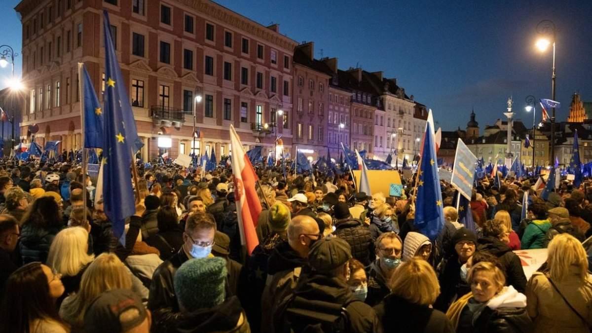 Правила ЄС втрачають пріоритет на території Польщі - 24 Канал
