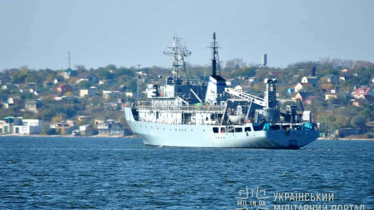 Судно ВМС України отримало пошкодження в Чорному морі: триває рятувальна операція - Україна новини - 24 Канал