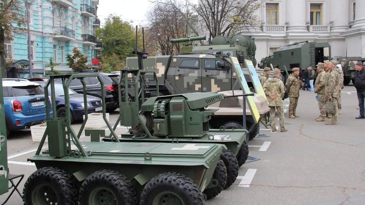 """""""Цифрове майбутнє армії"""" відкриває небачені розробки військової техніки - Новини Росії і України - 24 Канал"""