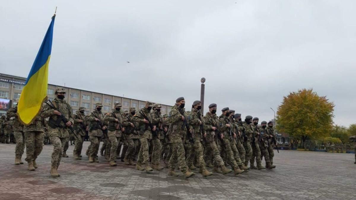 У Сєвєродонецьку вперше пройшов військовий парад до Дня захисників - Новини Сєвєродонецька - 24 Канал