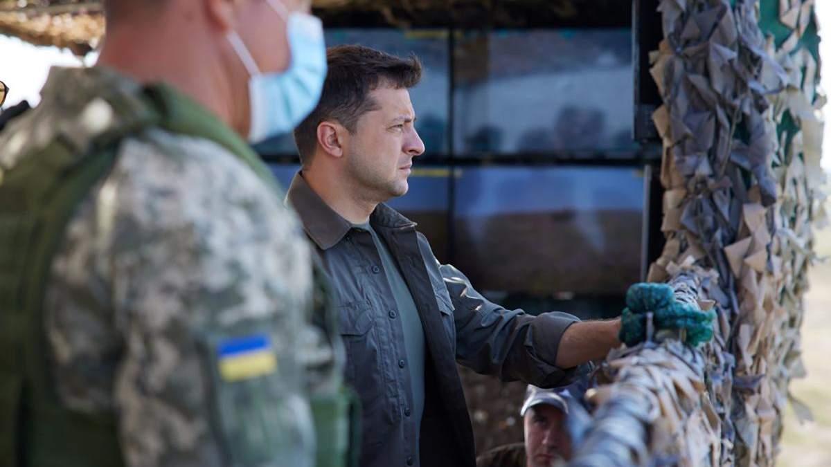 Зеленський надав нові звання командувачу Повітряних сил і ще чотирьом офіцерам - ООС новини - 24 Канал