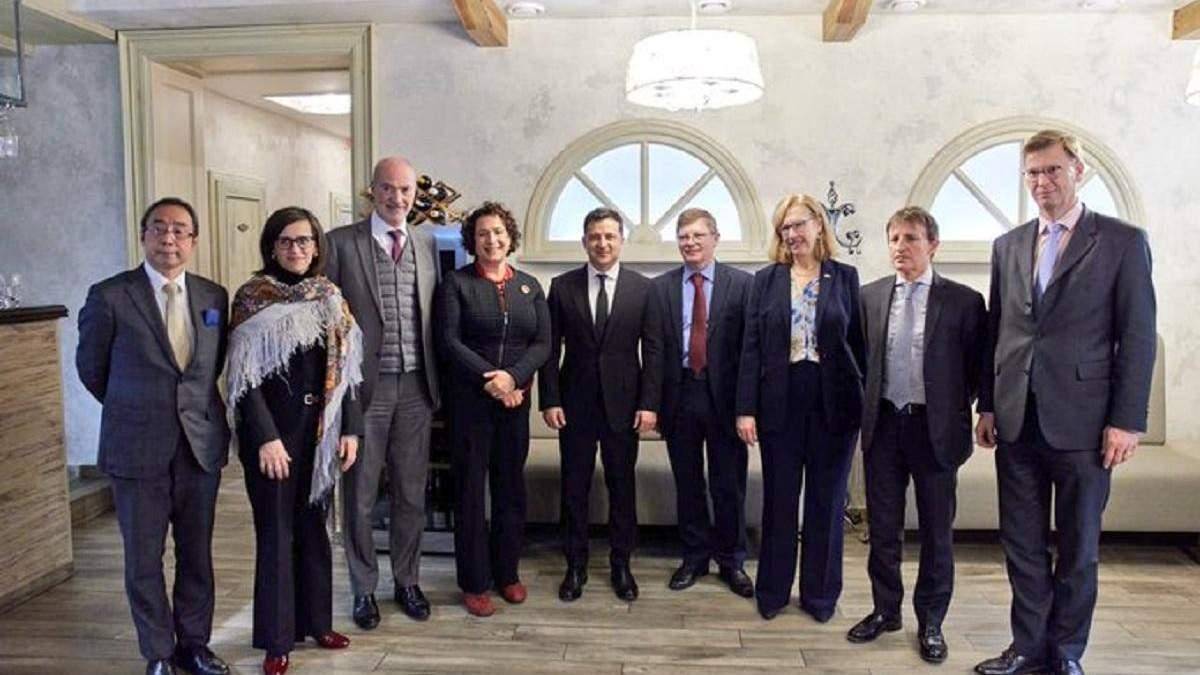 Посли G7 вітають рішучість Зеленського у проведенні судової реформи в Україні - 24 Канал
