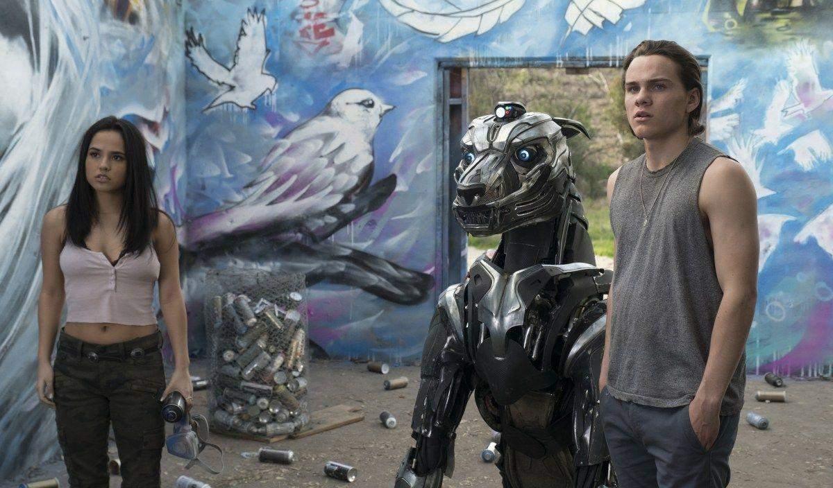 Огромный робот-пес
