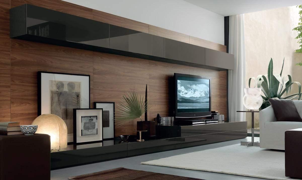 Стіна з телевізором: стильні ідеї