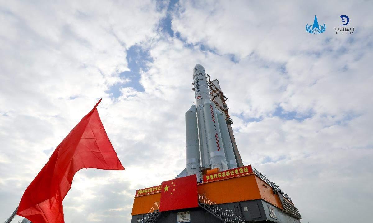 Місце запуску ракет у Китаї