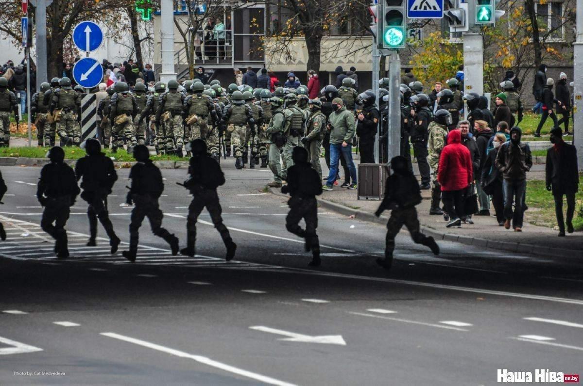 Протести в Білорусі 1 листопада