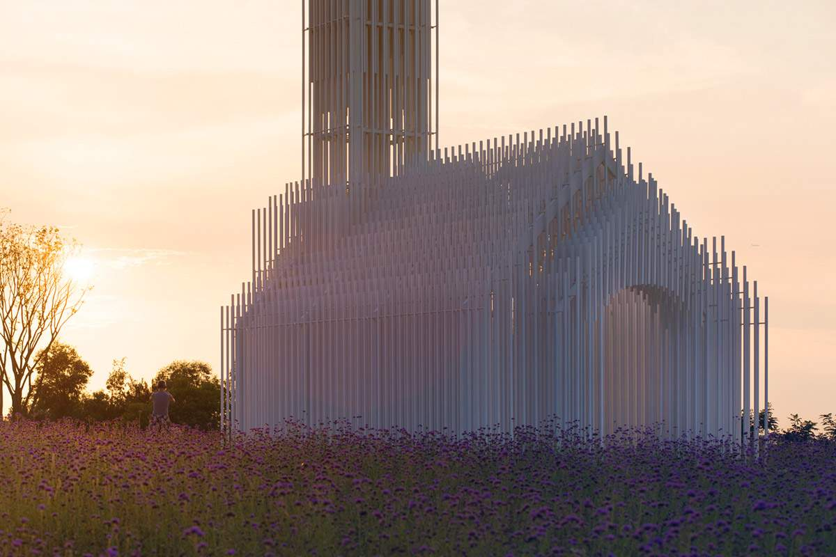 На вид церкви влияет освещения