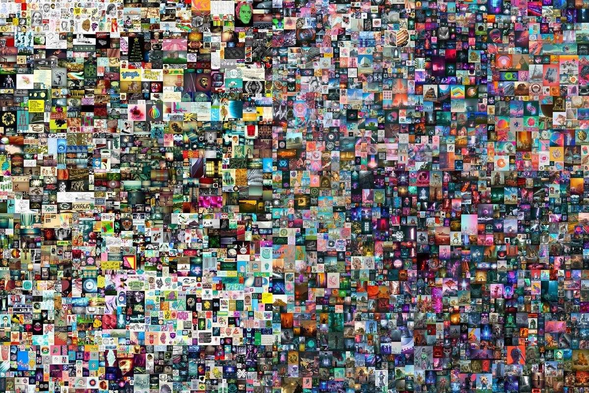 Цифрову роботу художника Beeple у форматі NFT  продали  на аукціоні Christie's за $ 69 млн