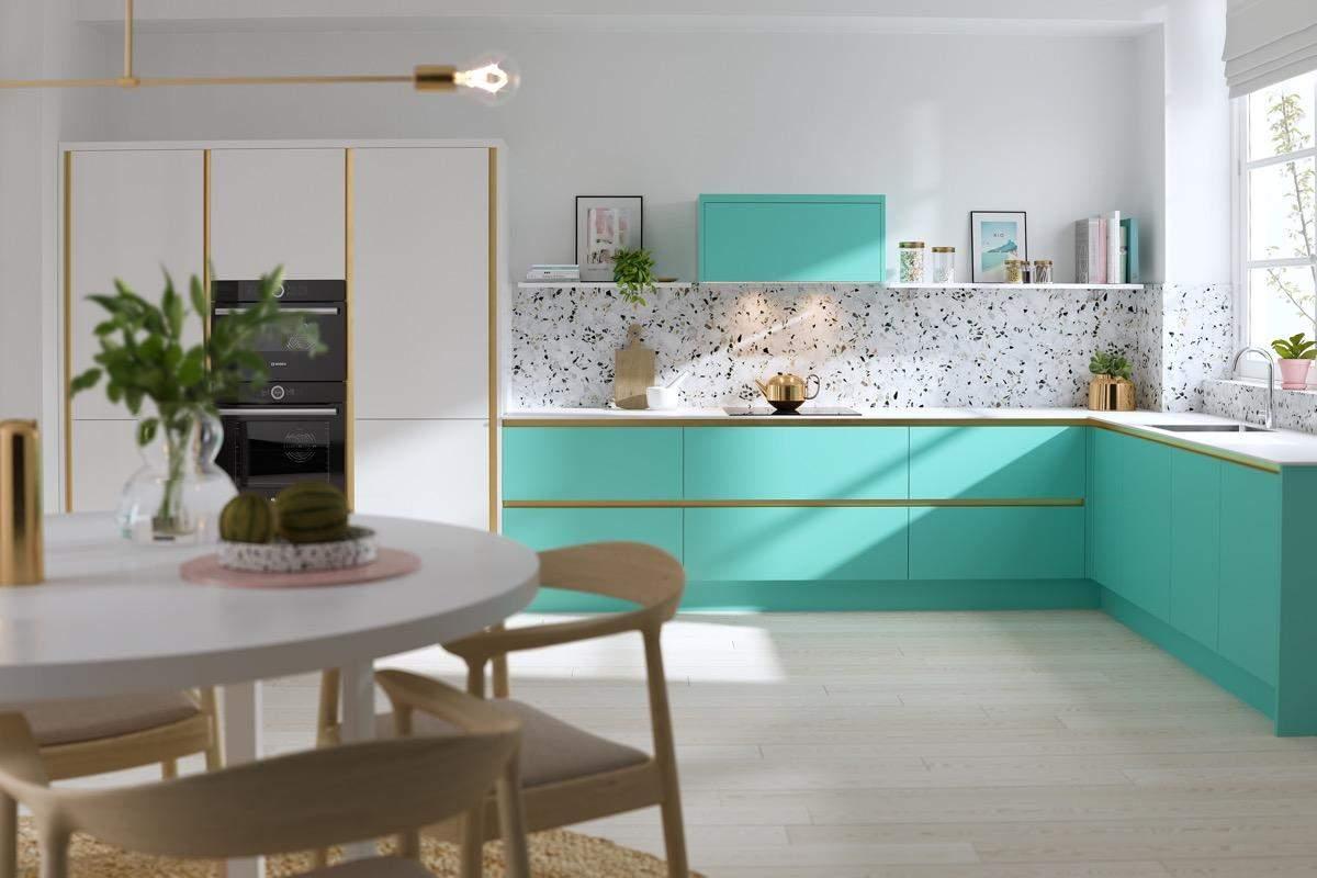 L-подібна кухня / Фото Home-designing