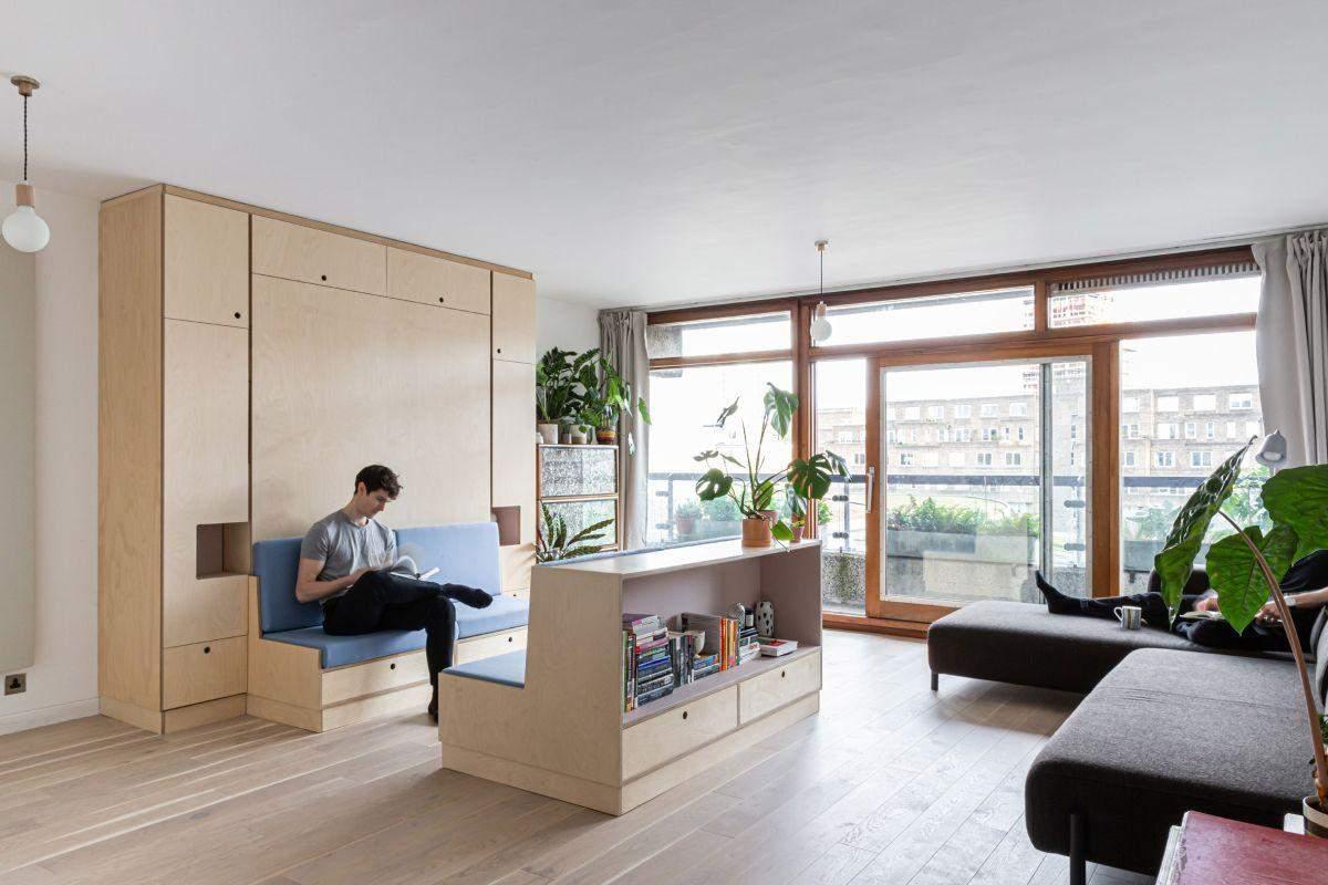 Використовуйте багатофункціональні меблі