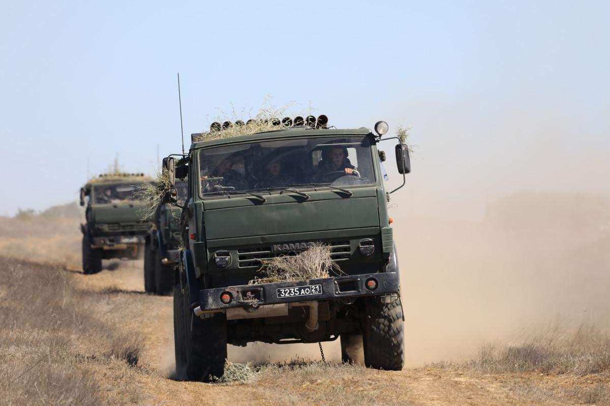 До навчань росіяни залучили понад 300 військових