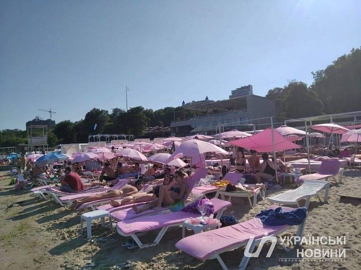 пляжі Одеса