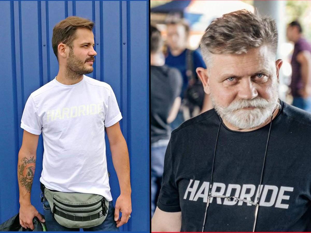 Син Володимир (ліворуч) та тато Анатолій (праворуч)