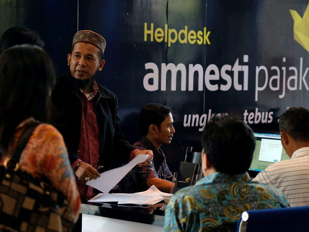 Програма податкової амністії в Індонезії