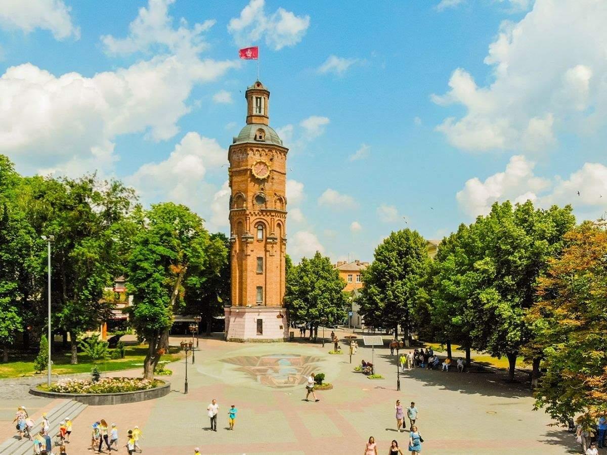 Водонапірна вежа у Вінниці