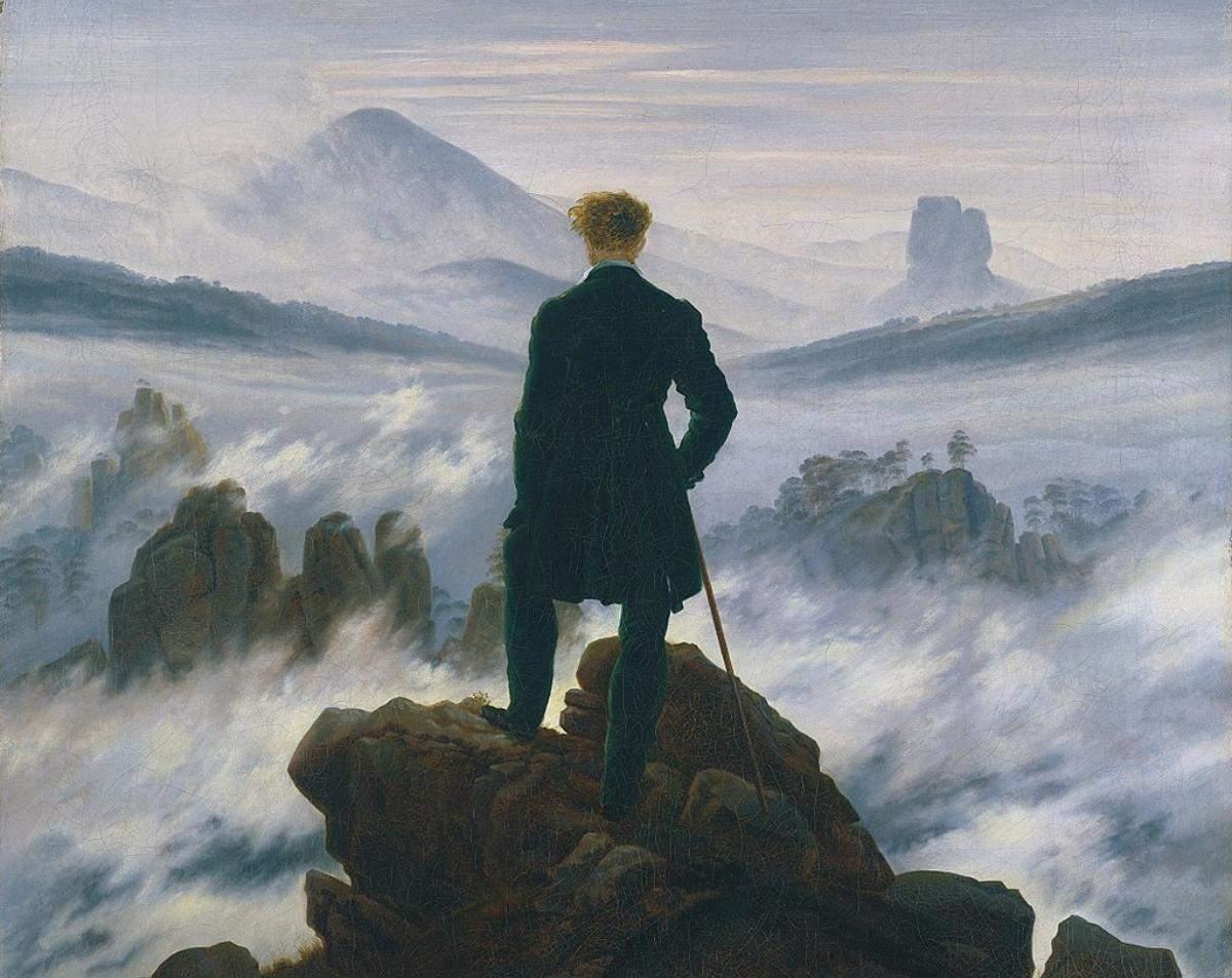 Мандрівник над морем туману