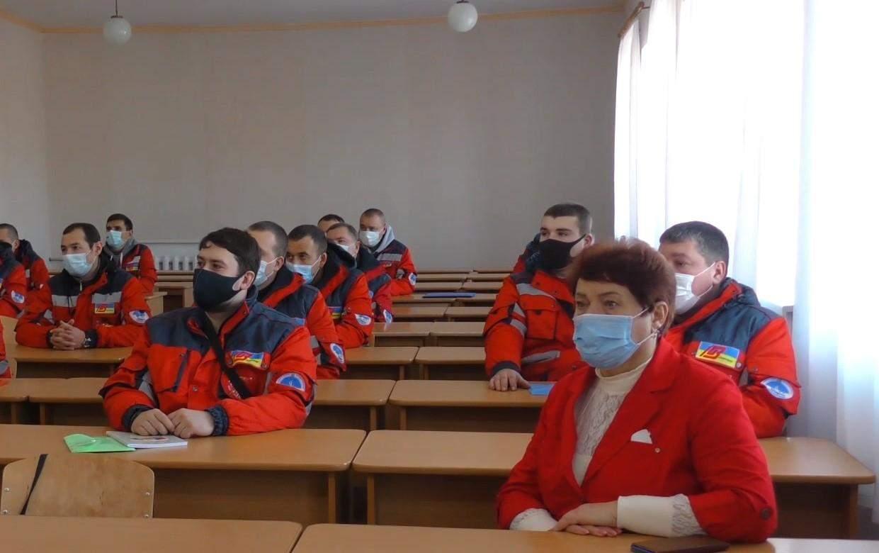 Навчання водіїв на Донеччині