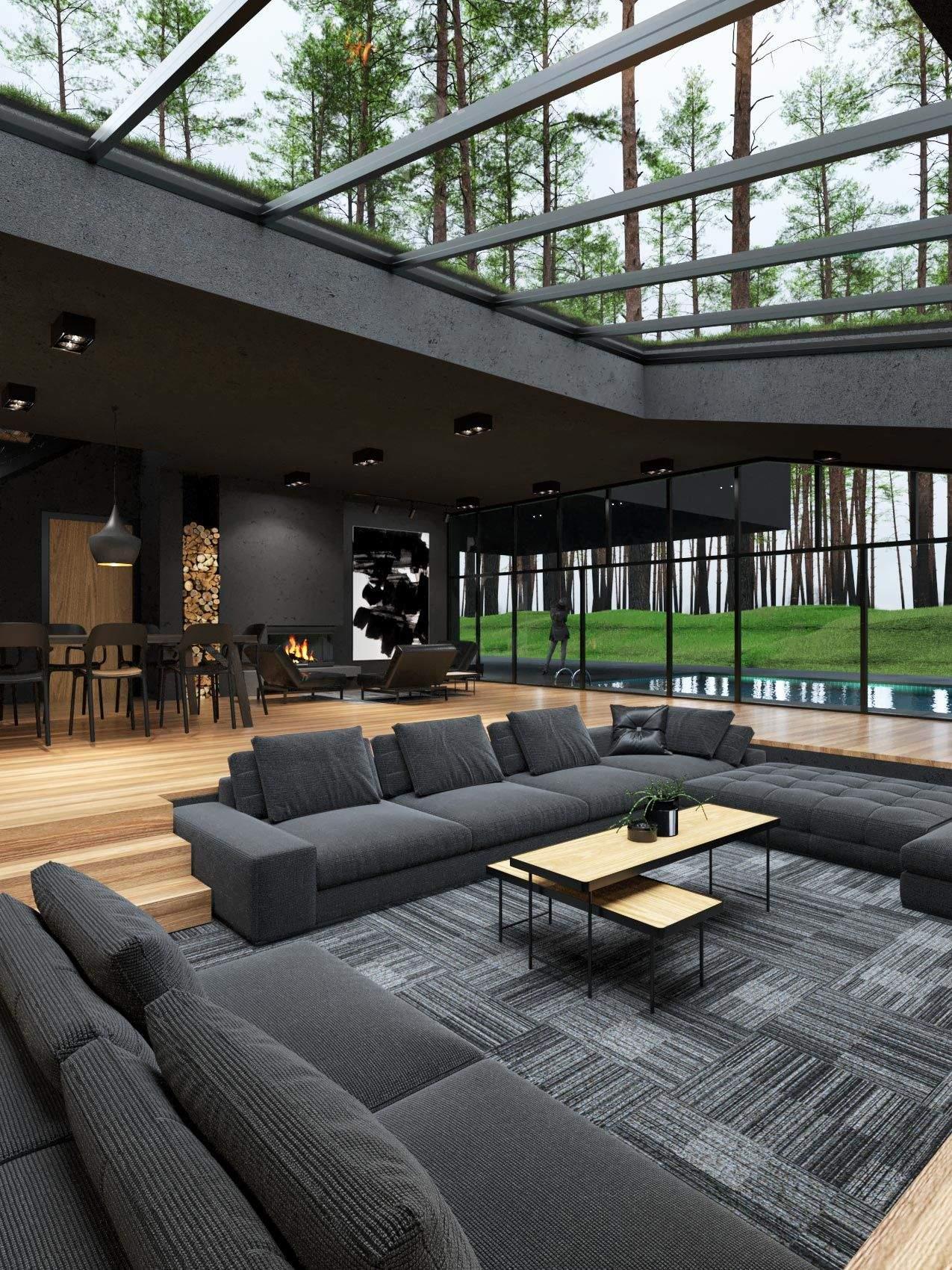 Велика кількість природного освітлення у відпочинковій зоні  / Фото Amazing Architecture