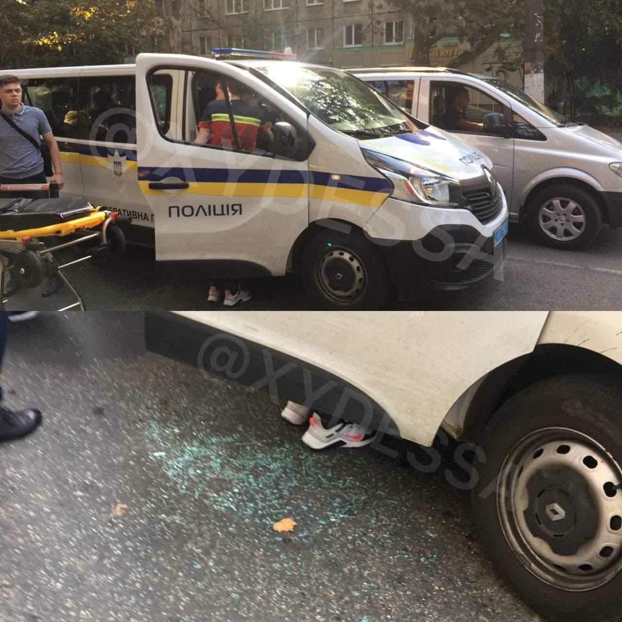 В Одесі поліцейський знепритомнів за кермом
