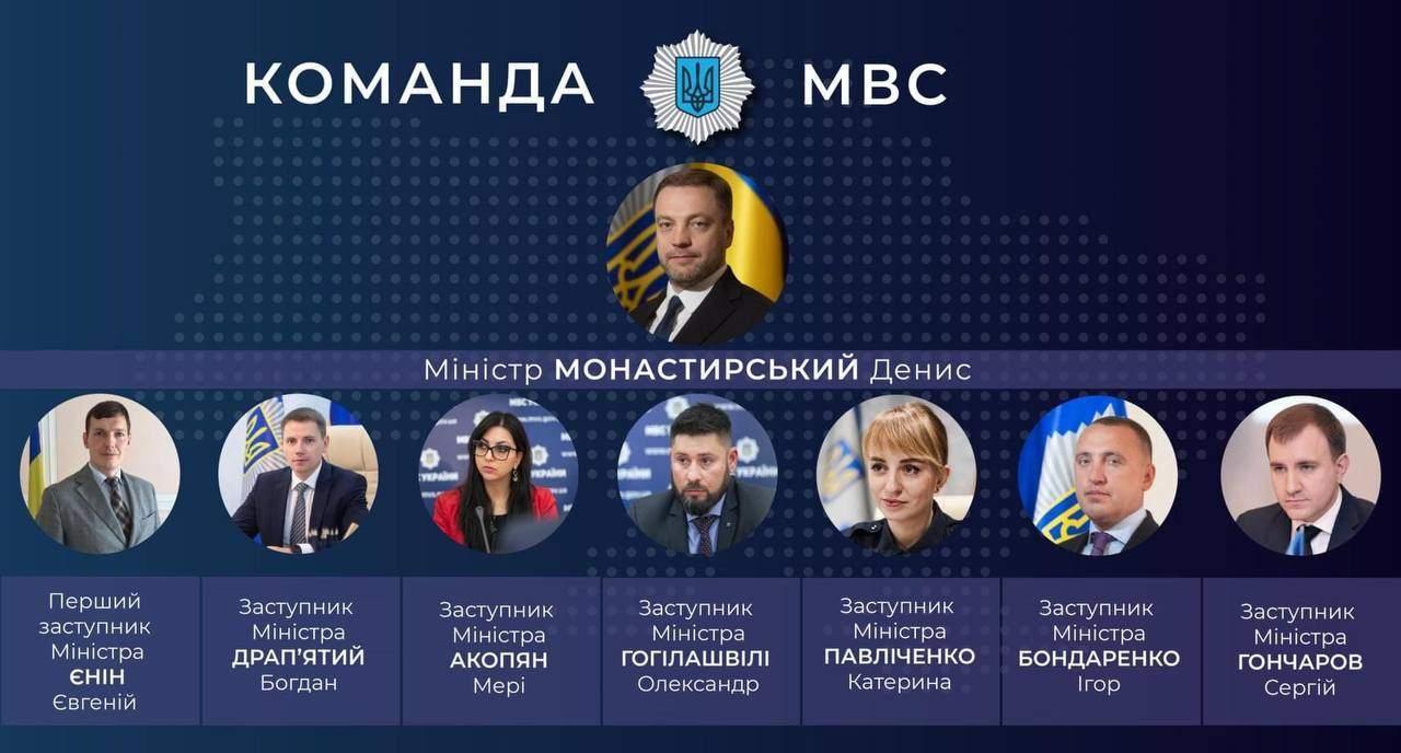 Нова команда МВС
