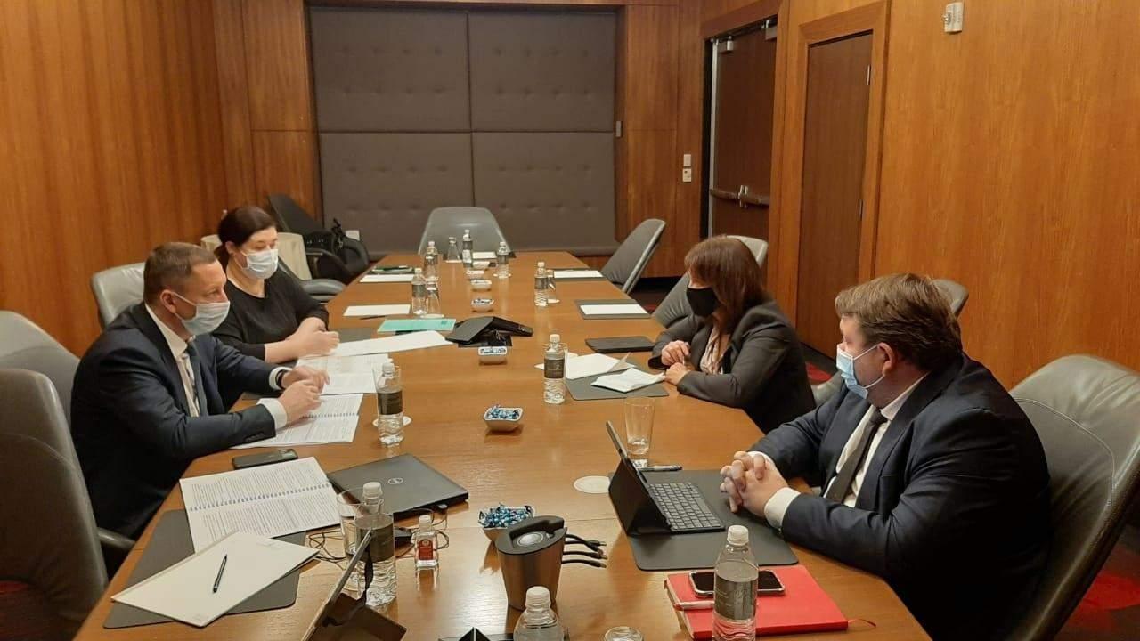Зустріч голови НБУ з представницею МВФ