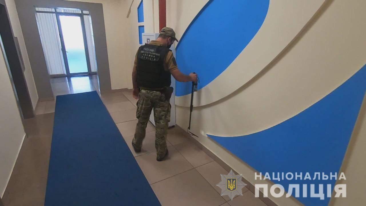 Захопили бізнес-центр в Одесі Невідомі блокували аукціон