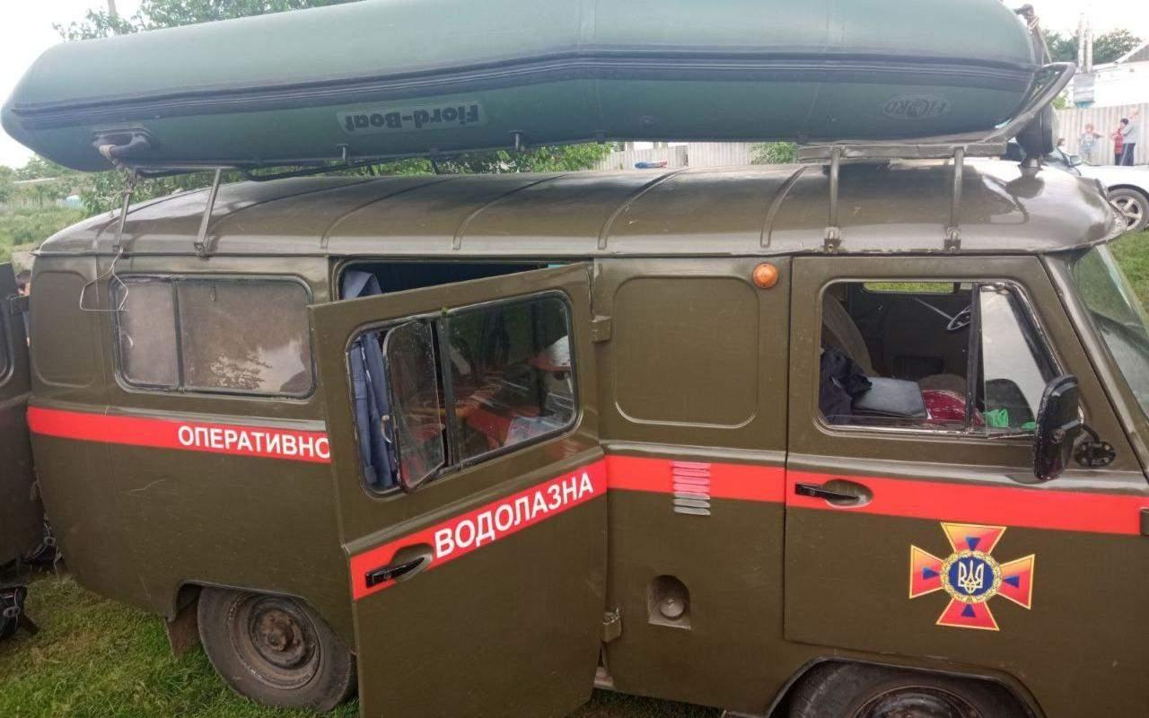 авто рятувальники водолази ДСНС Харківщини