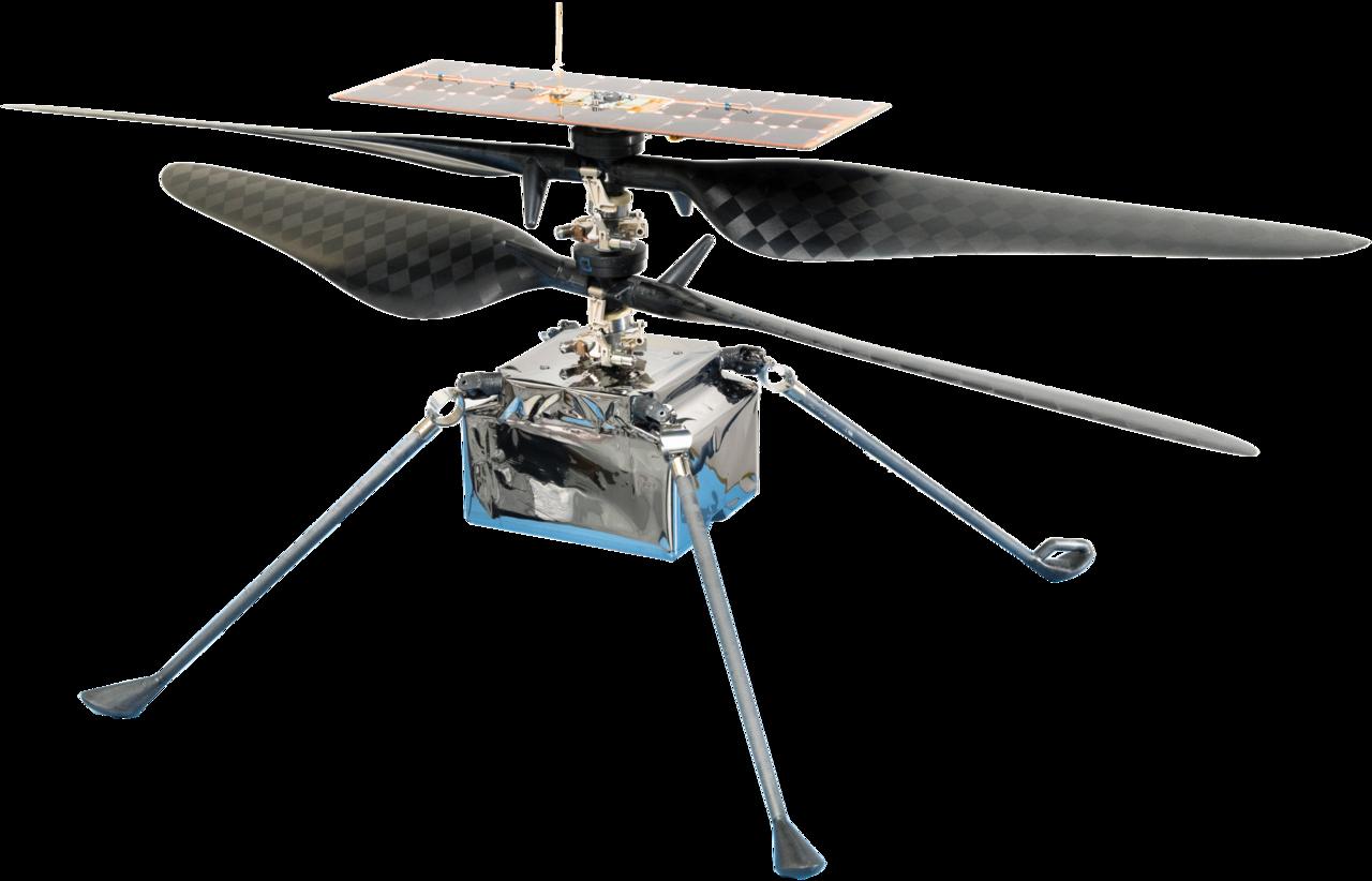 Марсіанський вертоліт Ingenuity