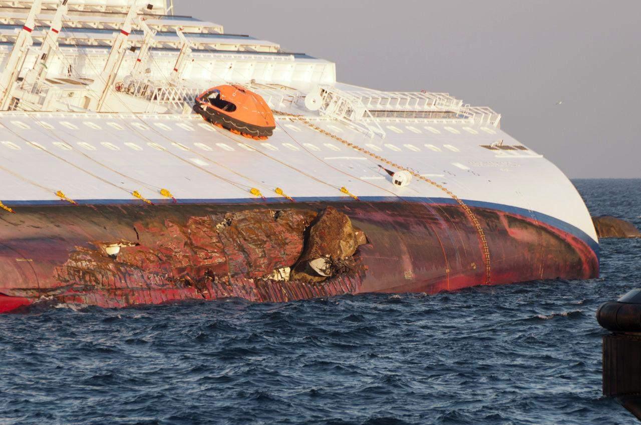 судно коста конкордія