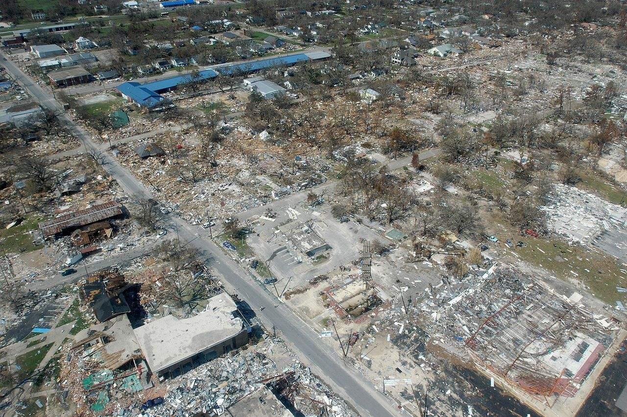 Наслідки урагану Катріна