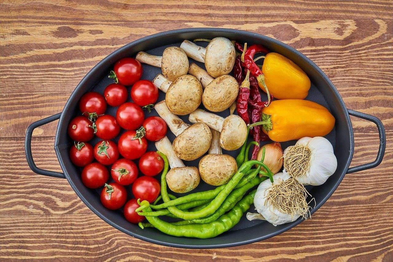 Чим більше різних овочів у вас в тарілці, тим краще