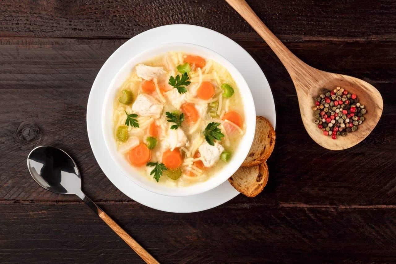 Чому суп допомагає при застуді