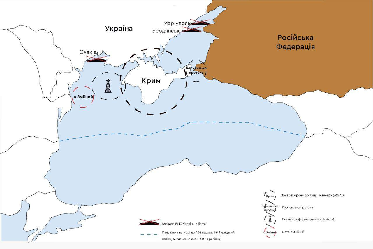 Россия, Кремль, Путин, наступление на Украину, Черное море