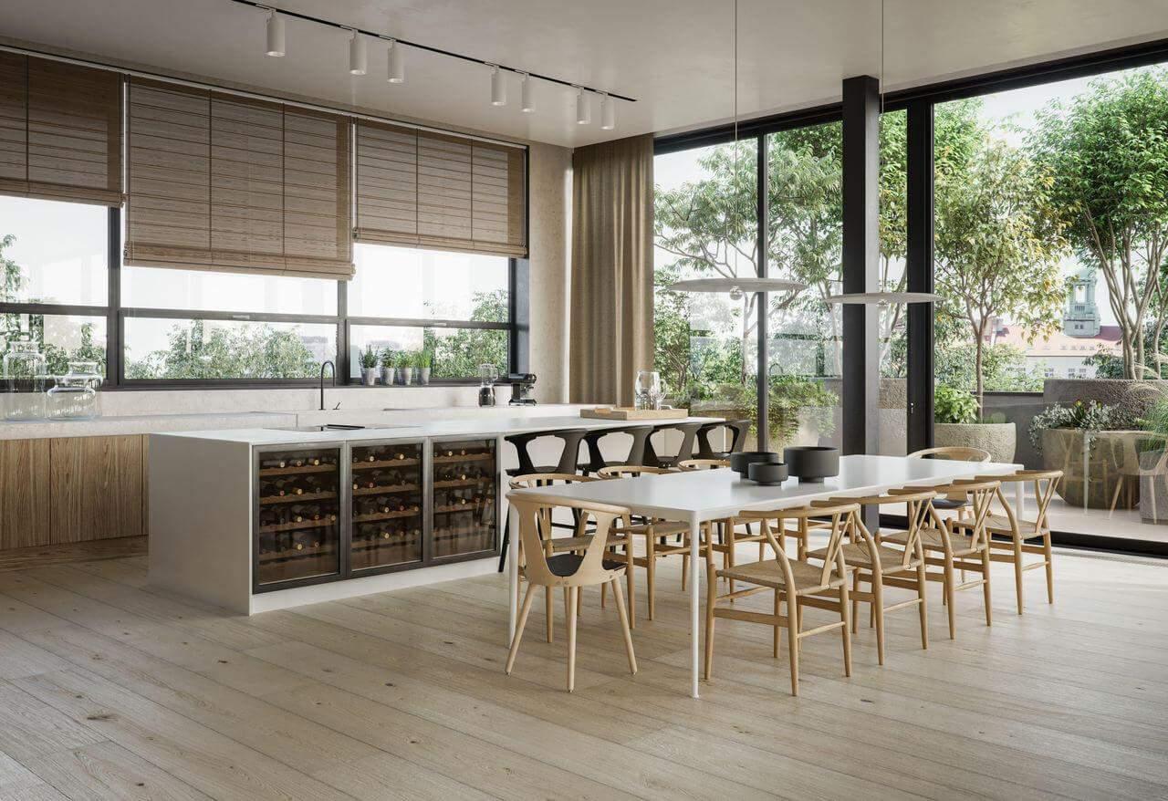 Квартира з легким та світлим інтер'єром
