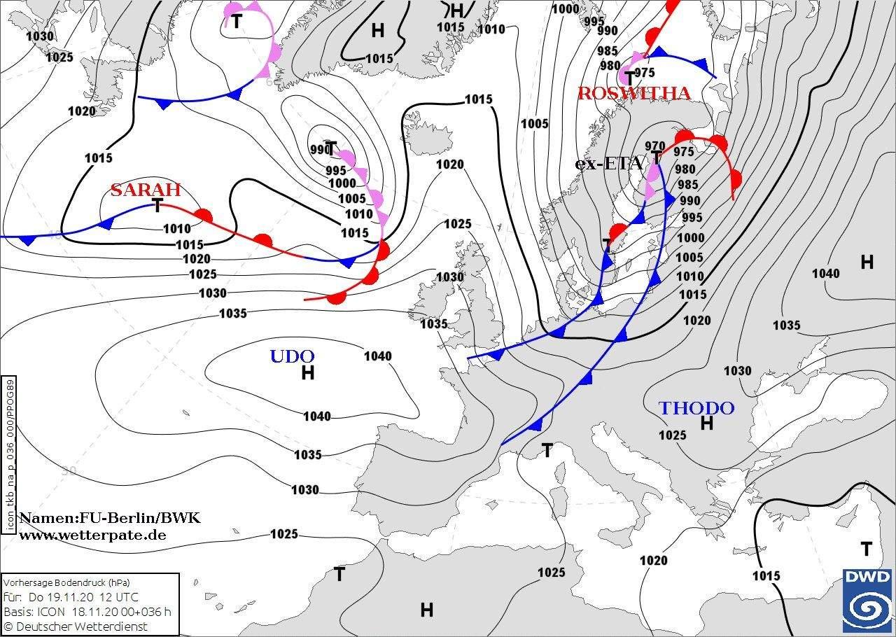 Циклон Thodo насувається в україну