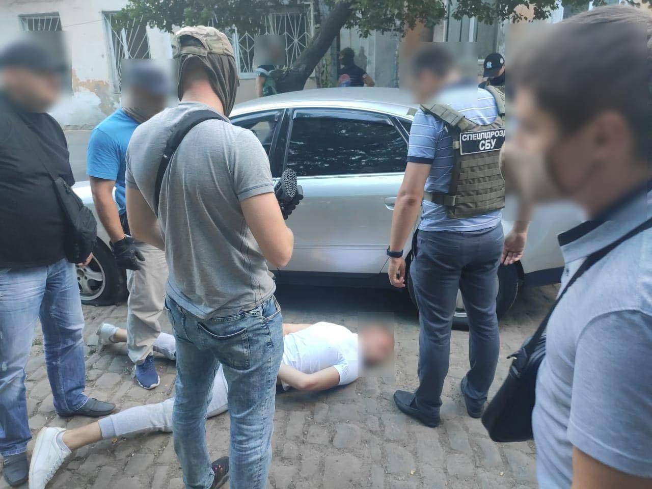 Затриманий розбійник / Фото Одеської обласної прокуратури