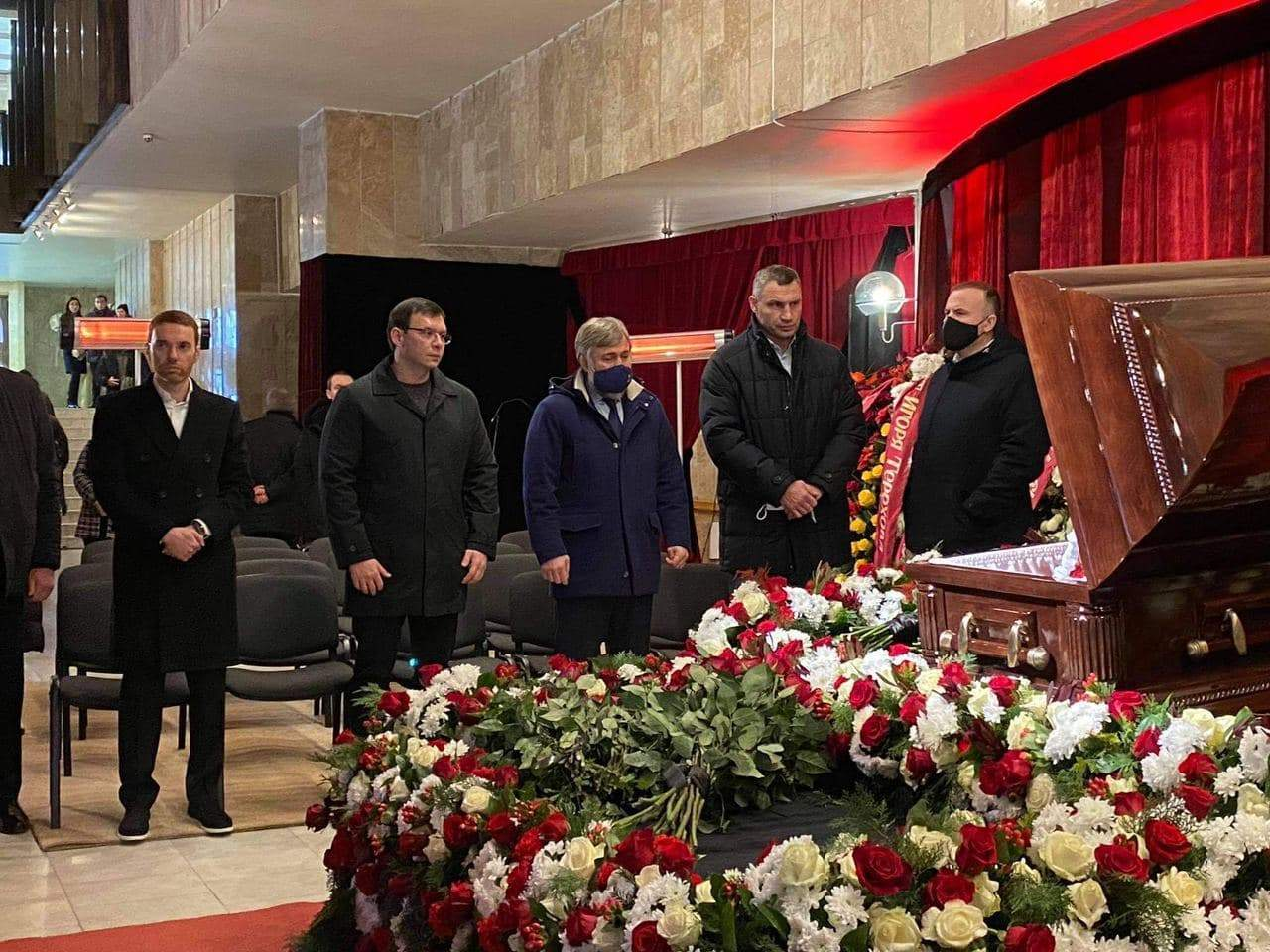 Кличко, Мураєв, Новицький, похорон Кернеса, Харків
