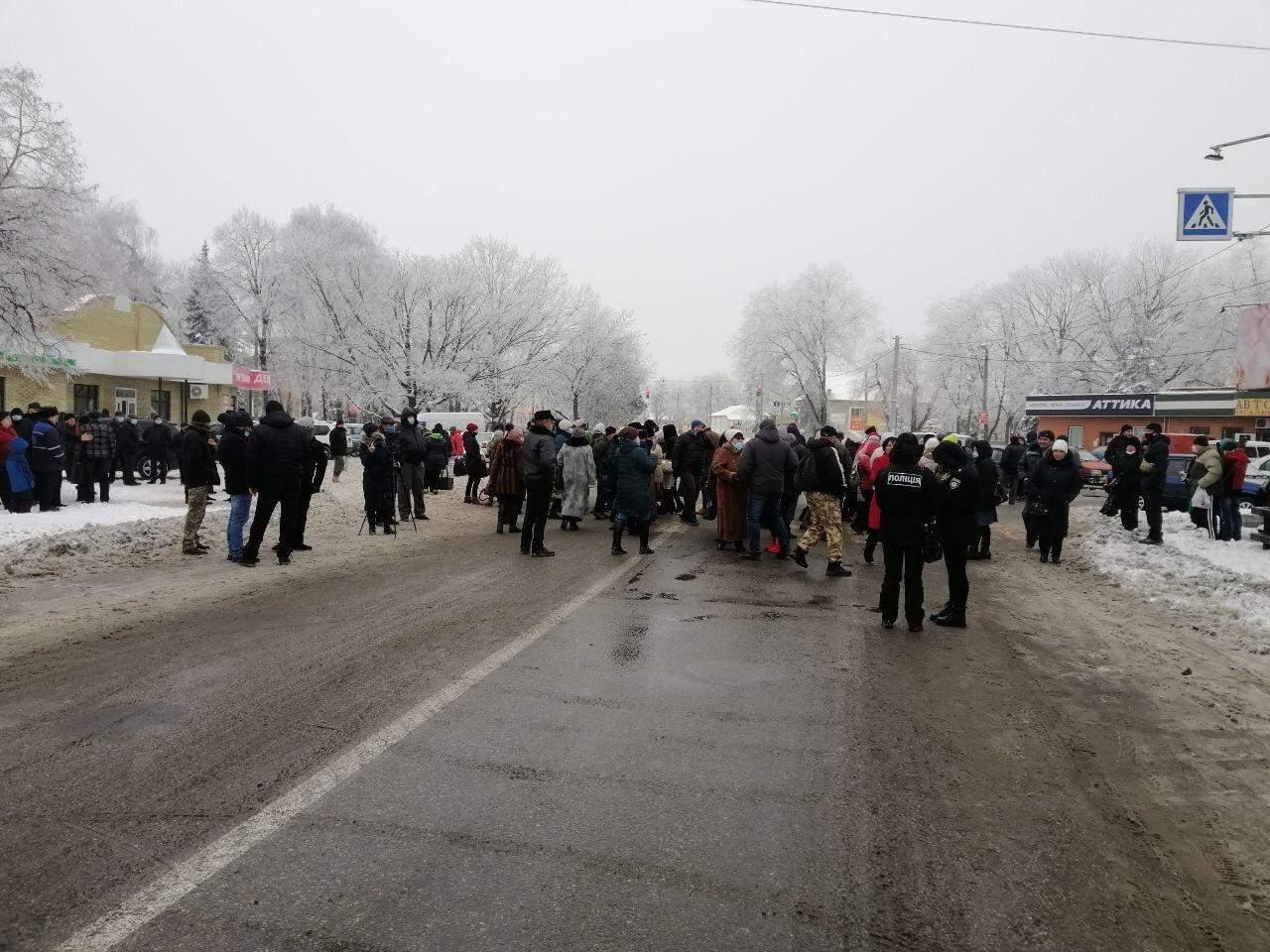 Перекриття дороги, Харківщина, тарифні протести, підняття тарифів