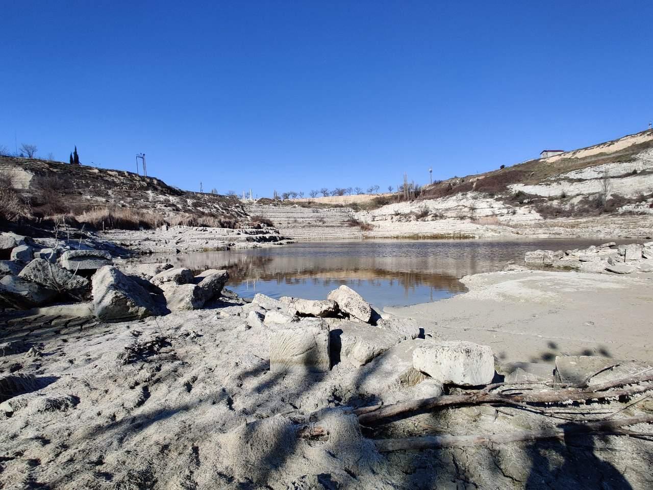 Інкерманське озеро висохло