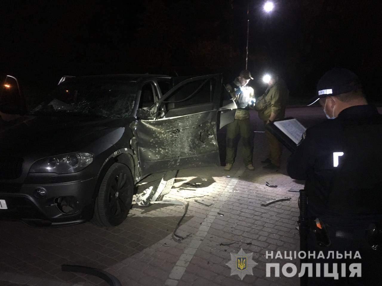 Обстріл авто з РПГ
