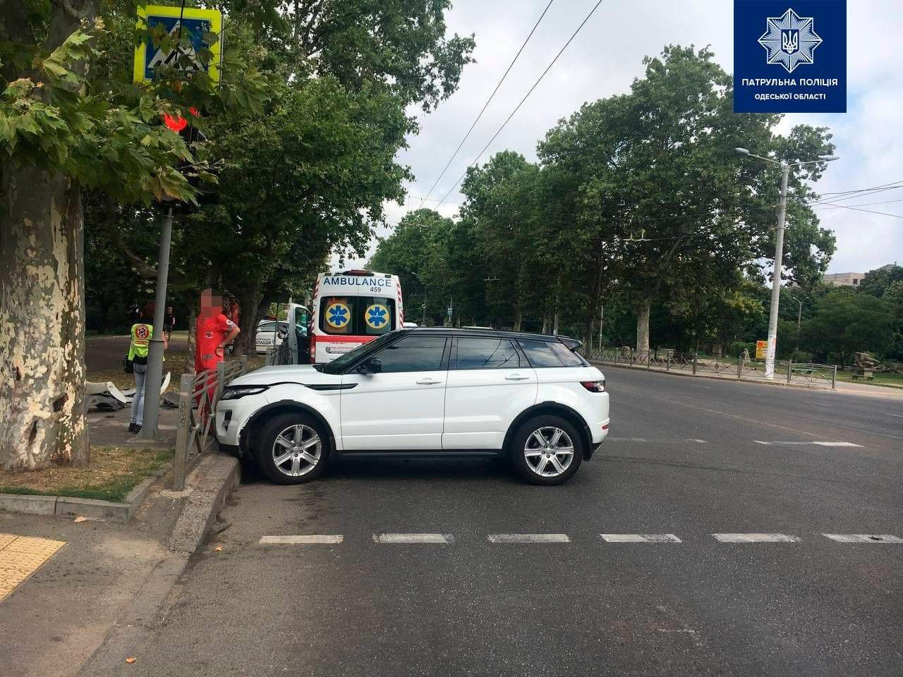 ДТП Одеса 2 серпня 2021