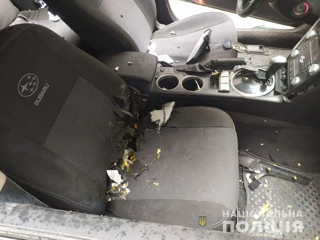 У Дніпрі пролунав вибух в авто