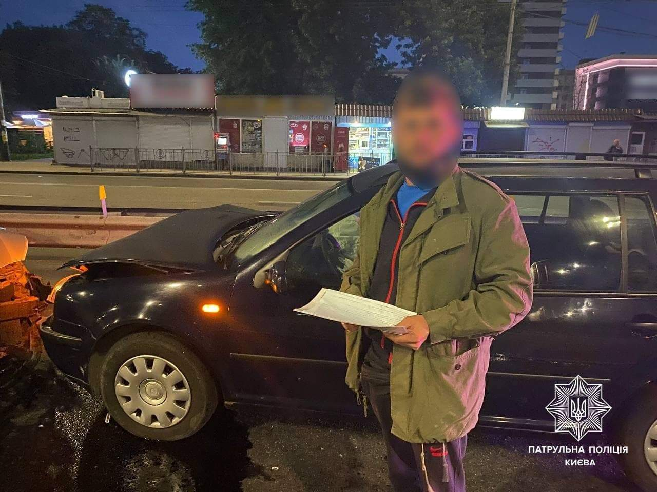 ДТП 5 вересня 2021 Водій п'яний вилетів заснув Київ