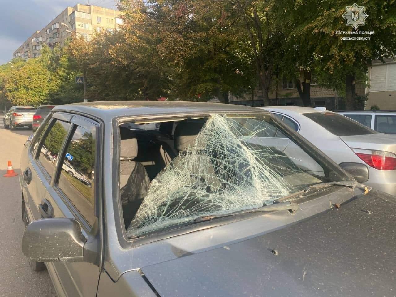 В Одесі збили 17-річного хлопця