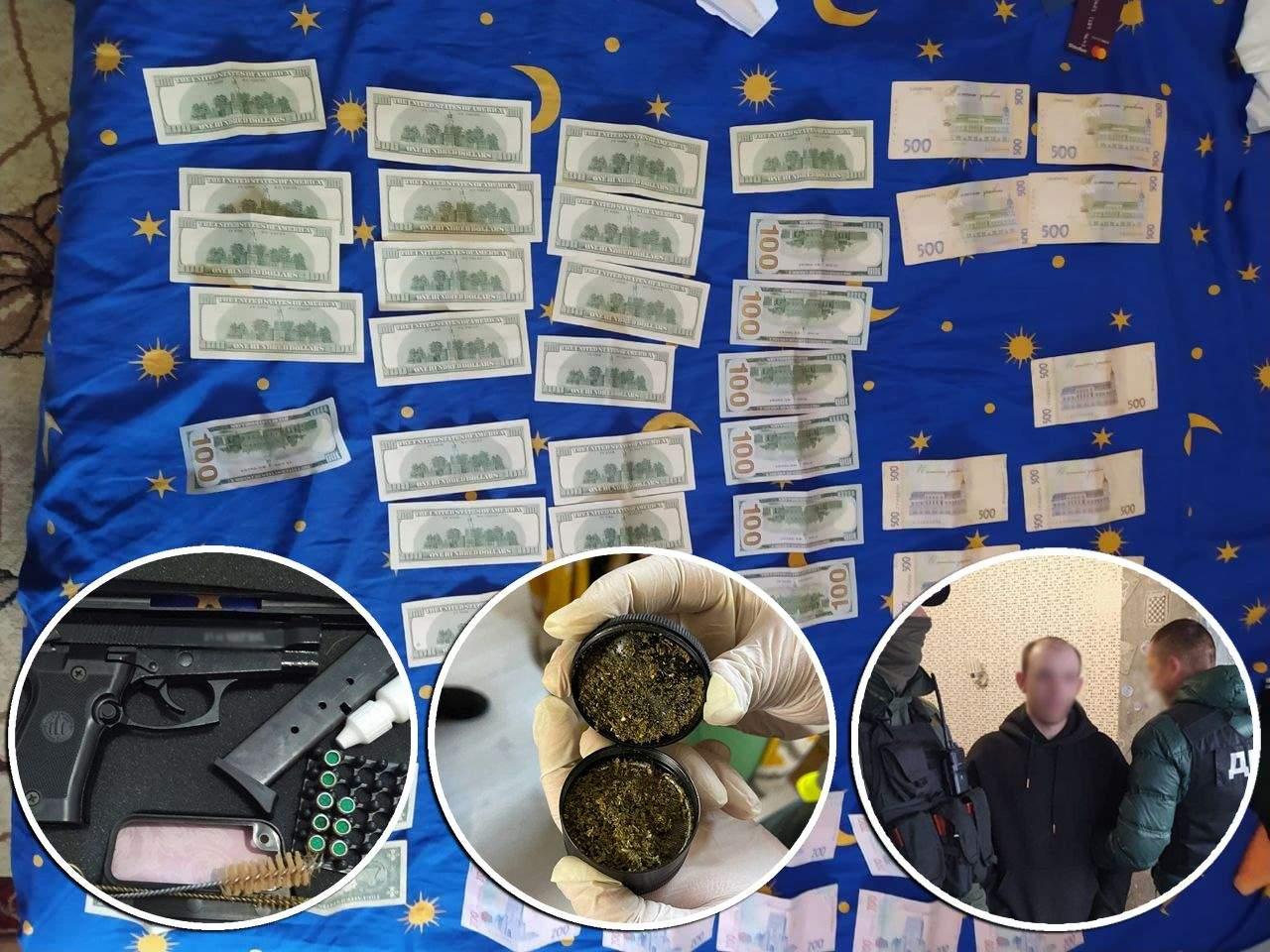 Київ Вдавали поліцейських вимагали гроші Наркозалежні