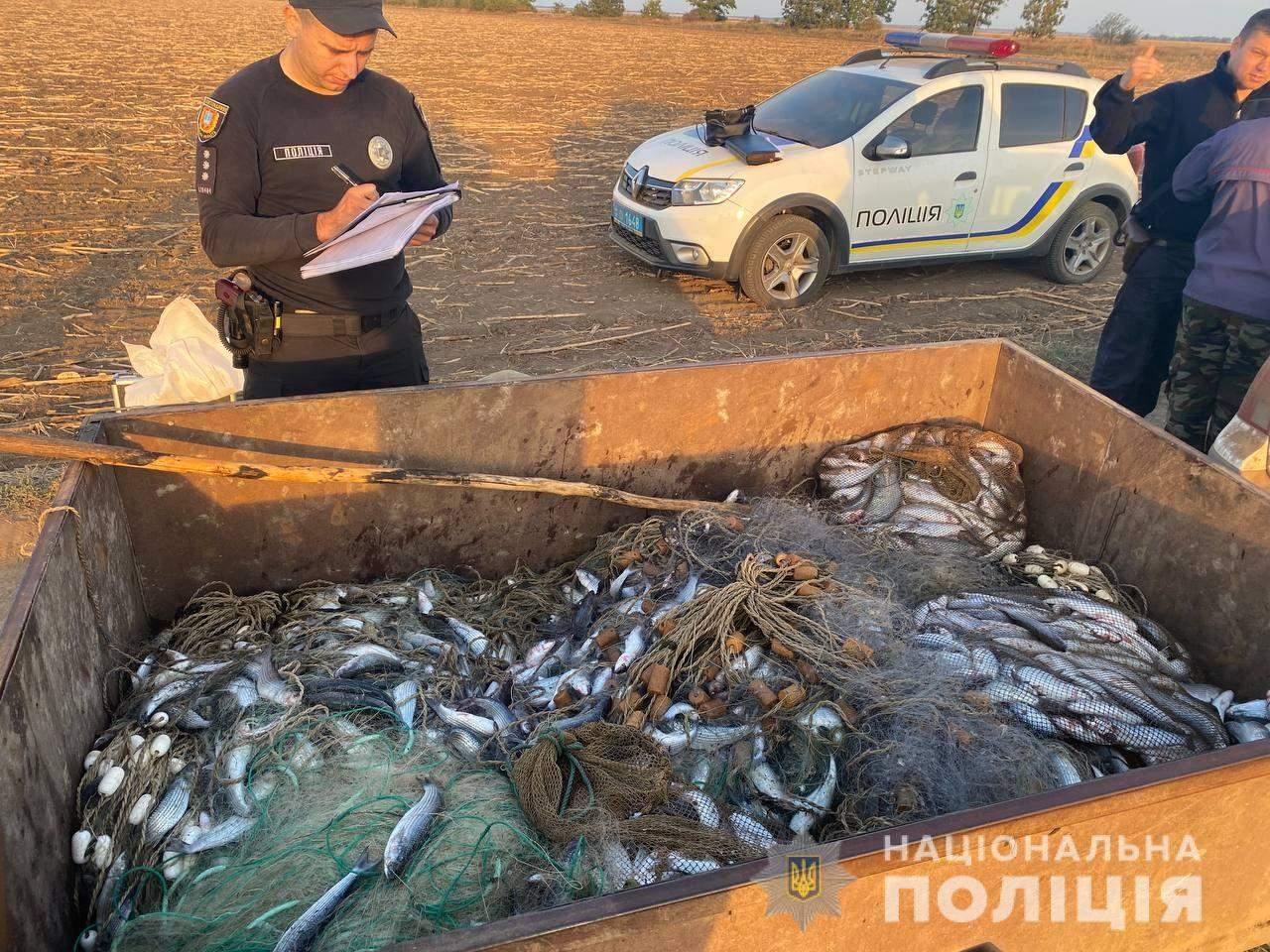Рибне браконьєрство Одеса 12 жовтня 2021