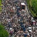 Вышли за пределы США: протесты из-за убийства Джорджа Флойда прошли в Европе