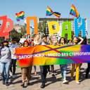 У Запоріжжі пройшов перший ЛГБТ-прайд: не обійшлося без провокацій – фото
