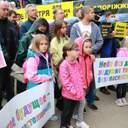 Екоактивісти в Запоріжжі не змогли пояснити, для чого зібралися перед виборами