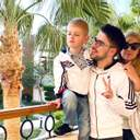 Julik з дружиною та сином відправився у відпустку: яскраві фото з Єгипту